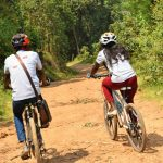 Biking in Bwindi Impenetrable forest National Park