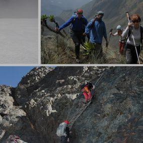 Mountain Rwenzori hiking
